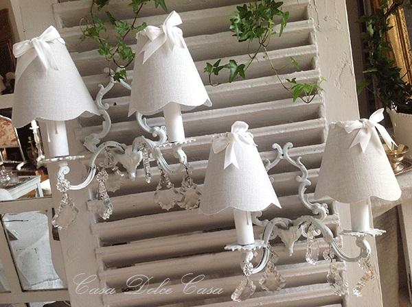 画像1: フランスアンティーク ブロンズ製2灯ウォールランプ【30%OFFセール】
