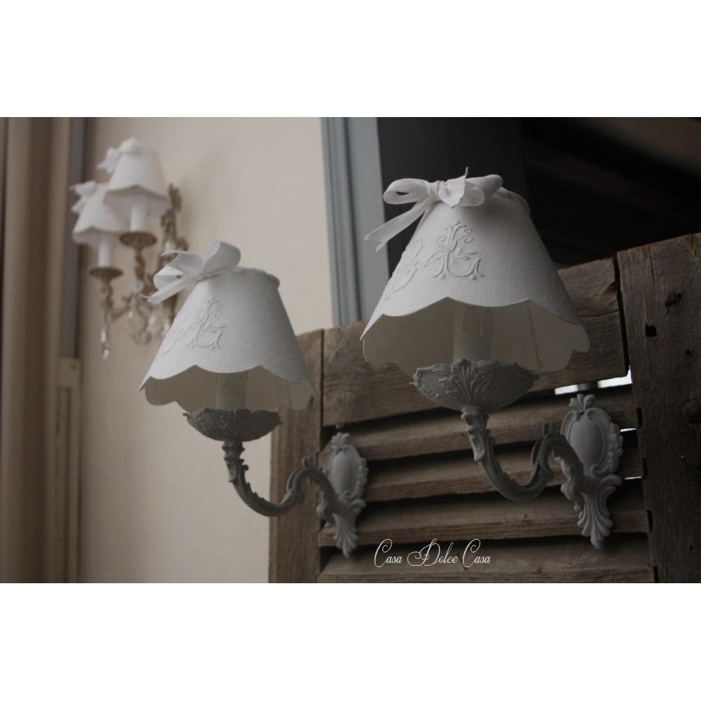 画像3: フランスアンティーク 1灯ウォールランプ