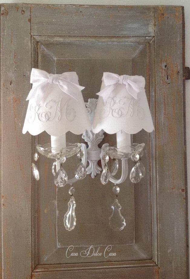 画像1: フランスアンティーク 2灯ウォールランプ