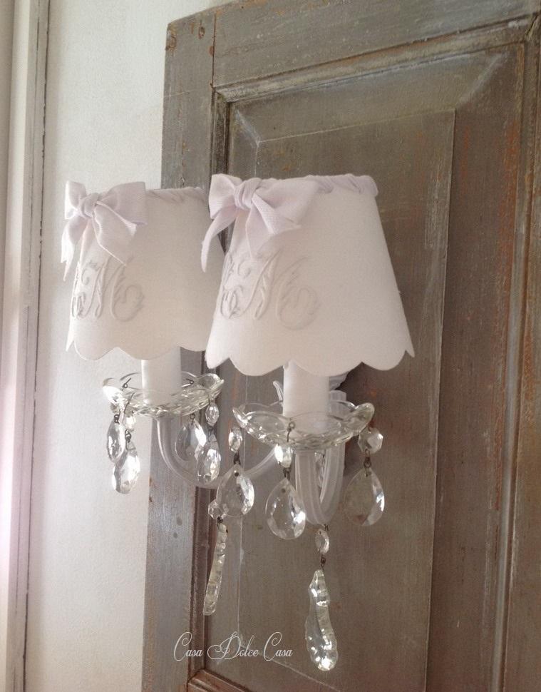 画像3: フランスアンティーク 2灯ウォールランプ