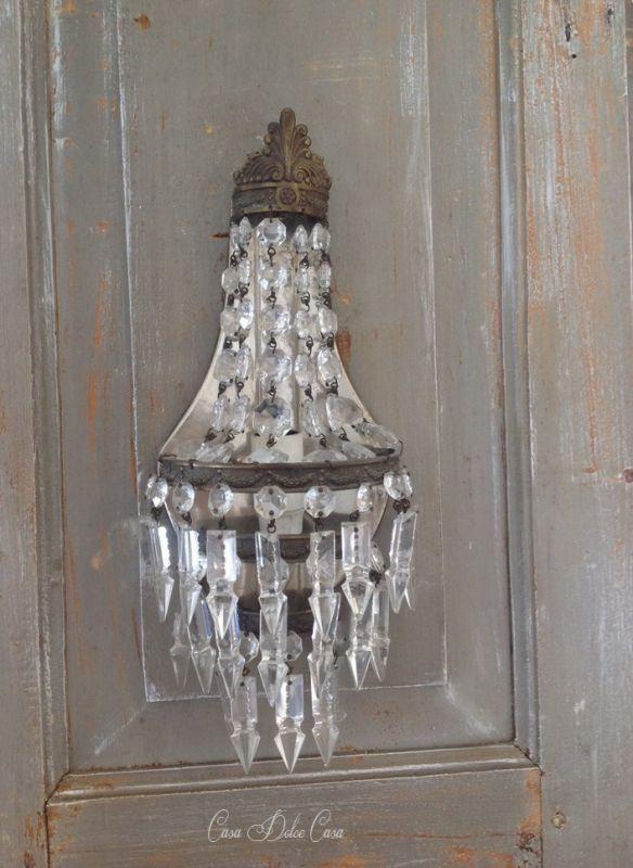 画像1: フランスアンティーク 1灯ウォールランプ 20%OFFセール