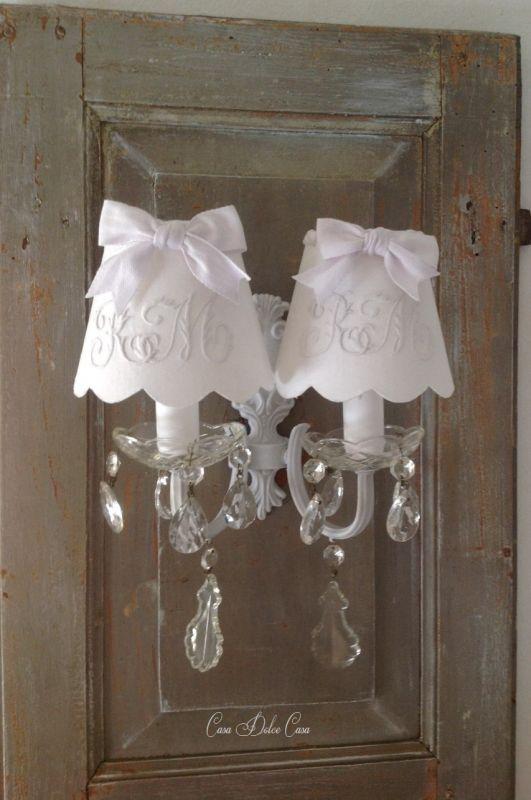 画像2: フランスアンティーク 2灯ウォールランプ