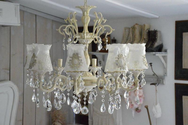 画像1: Chandelier de Sophie オーダーメイド 6, 8灯シャンデリア